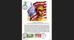PERSH87-4 : 1987 - Général Pershing - débarquement en France