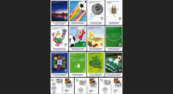 WM06 1-12E : 2006 - Cartes FIFA 2006 - matches de l'équipe de France