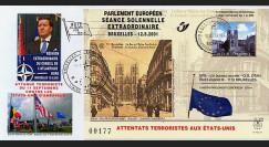 PE439 T1 : 2001 - Attentats aux USA - séance extraordinaire à Bruxelles