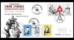 PE752 : FDC Chine-France...