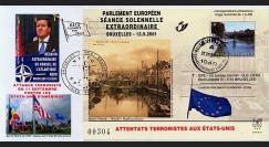 PE439 T4 : 2001 - Attentats aux USA - séance extraordinaire à Bruxelles