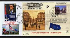 PE439 T5 : 2001 - Attentats aux USA - séance extraordinaire à Bruxelles