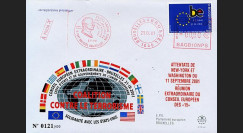 PE440 : 2001 - FDC 'Attentats aux USA - Coalition contre le terrorisme'