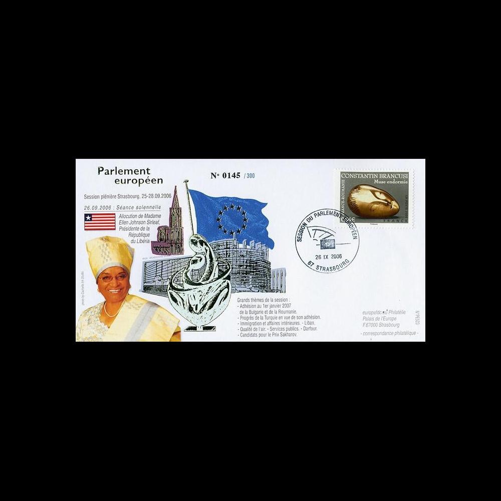 PE523 : 2006 - Visite officielle de la Présidente du Libéria