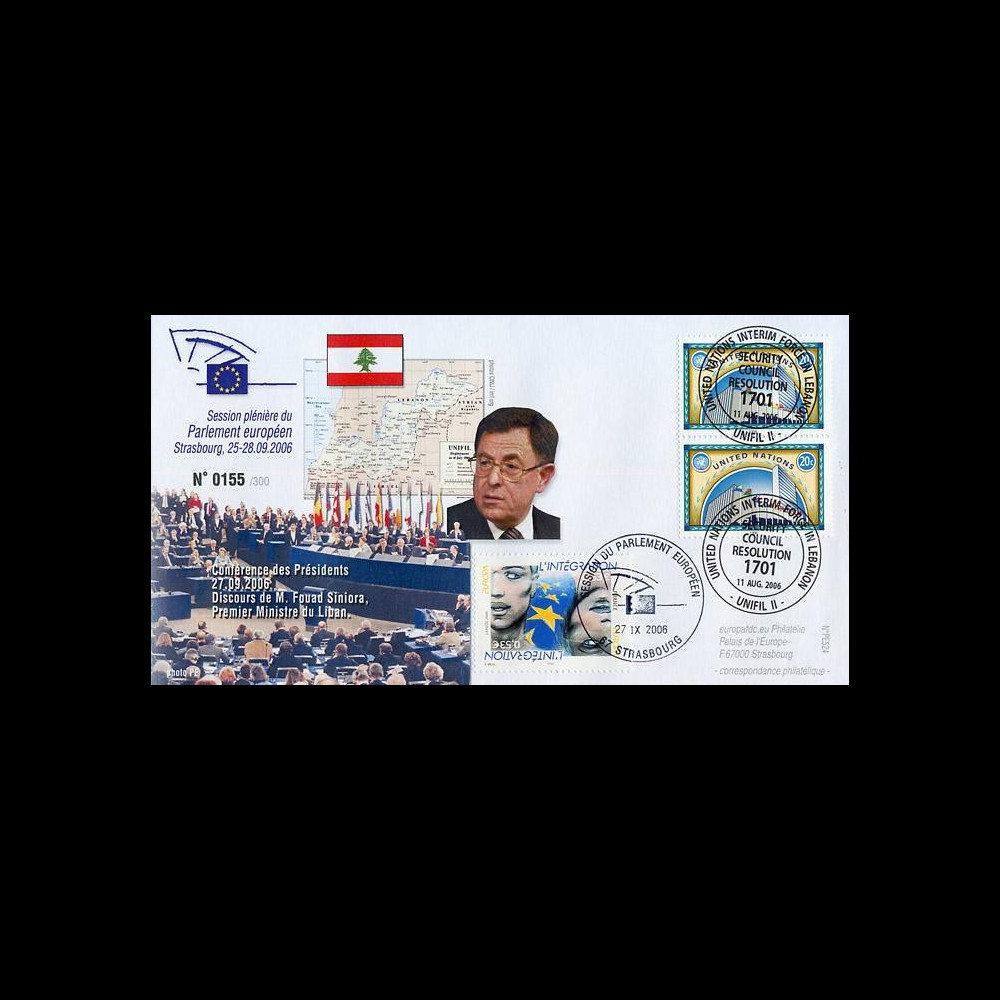 PE524 : 2006 - Visite officielle du 1er minsitre du Liban