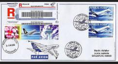 A380-20R : 2006 - Courrier précurseur à destination de Singapour