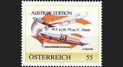 CO-RET21N2 : 2006 - Timbre personnalisé Fly for Peace (Autriche)
