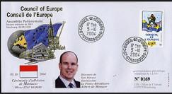 CE55-IV A type2 : 5.10.2004 - Adhésion de Monaco au Conseil de l'Europe
