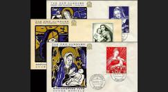 SAR54-MA : 1954 - Marie et l'Enfant Jésus - Sarre sous admin. franç.