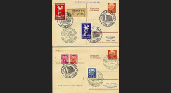 LE16-17C : 1958 - TP EUROPA 1958 France - Sarre