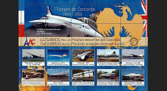 CO-E11 : 2006 - Feuillet l'Epopée de Concorde - G-BBDG