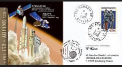 V172L type1 : 2006 - Ariane Vol 172 satellites SYRACUSE 3B et JCSAT-10