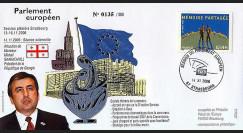 PE527 : 2006 - Visite officielle du Pdt de la Géorgie
