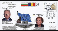 PE534 : 2007 - Election du Pdt du PE et visite de Angela Merkel