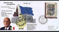 PE535 : 2007 - Visite officielle du Président italien