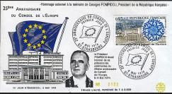 FE27c : 1974 - 25 ans Conseil de l'Europe - Décès de Pompidou