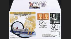 QM2-3 type2 : 2004 - Voyage inaugural transatlantique du Queen Mary 2