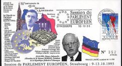 PE309 : 1995 : 50 ans de l'ENA - visite du Pdt allemand M. Herzog