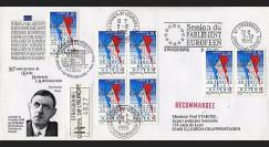 PE309a : 1995 : 50 ans de l'ENA - visite du Pdt allemand M. Herzog