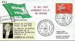 FD27 : 1962 - le Général de Gaulle échappe à un attentat de l'OAS