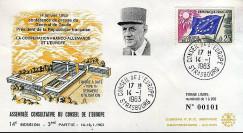 CE14 III T1 : 1963 Coopération franco-allemande et Europe - de Gaulle