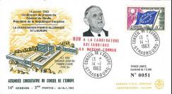 CE14 III T2 : 1963 Coopération franco-allemande et Europe - de Gaulle