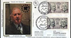 PE150 : 1988 - 25 ans Traité de l'Elysée - de Gaulle et Adenauer