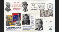 PE151 : 1988 - 25 ans Traité de l'Elysée - de Gaulle et Adenauer