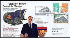 CE55-III : 23.6.2004 Visite officielle du Président de l'Arménie