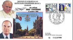 PAP7 type2 : 1988 - Jean-Paul II - Mitterrand