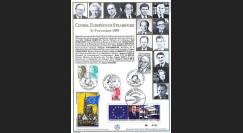 PE206 : Conseil européen de Strasbourg - Présidence franç. CEE