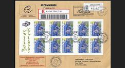 CE55-III : 23.6.2004 Visite officielle du Président de l'Arménie RECO