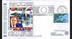 CE44 : 1992 - Construction du Palais des Droits de l'Homme