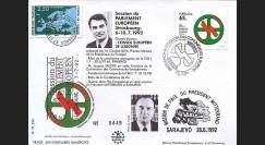 PE250: 1992 - Présidence portugaise CEE -  Mitterrand à Sarajevo