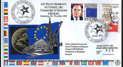 EG93 : 1993 : XIXe Etats Généraux du CCRE - Mitterrand