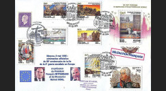 PE306-1-2 : 1995 - 50 ans fin 2nde Guerre Mondiale - Mitterrand - Kohl