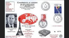 LE104 T2 : 1982 - Sommet des Chefs d'Etat et de Gouvernement du G7