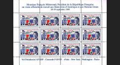 CO-88TV : 1988 - Concorde Vol présidentiel Mitterrand - Reagan