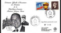 CHIR1L : 1995 - Cérémonine d'Investiture du Pdt Chirac