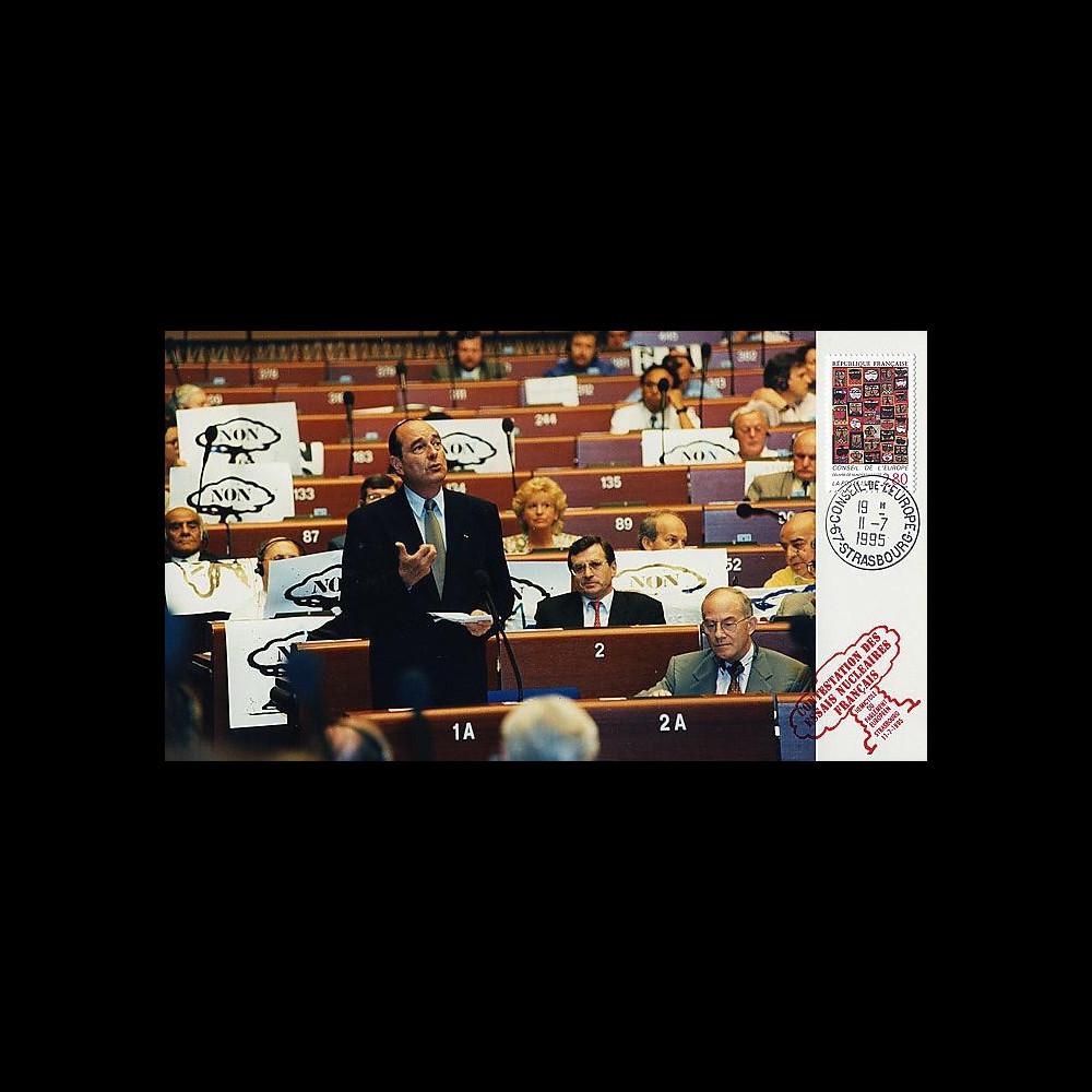 PE307P T1 : 1995 - Reprise des essais nucléaires français - Chirac