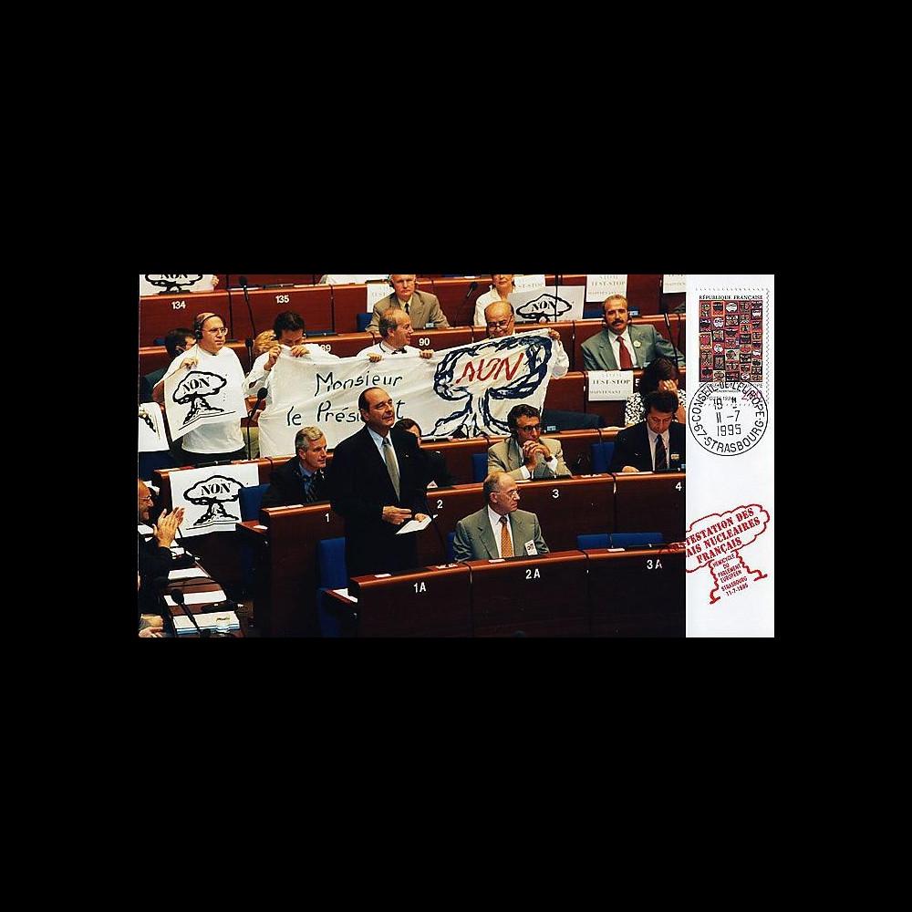 PE307P T2 : 1995 - Reprise des essais nucléaires français - Chirac
