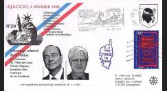 AJA98-1 : 1998 - Hommage au Préfet Erignac - Chirac et Jospin