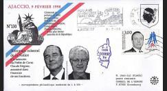 AJA98-2 : 1998 - Hommage au Préfet Erignac - Chirac et Jospin