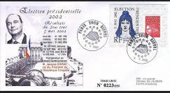 EP 02-3 : 2002 - Elections présidentielles 2002 - Chirac réélu