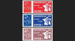 EP07-1/3N : 2007 - Elections présidentielles 2007