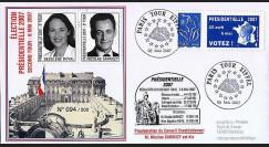 EP07-2 : 2007 - Présidentielles 2007 - 2e Tour Royal - Sarkozy