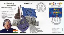PE537 : 2007 - Visite officielle du Pdt de l'Inde