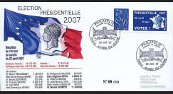 EP07-1a : 2007 - Elections présidentielles 2007 - 1er Tour