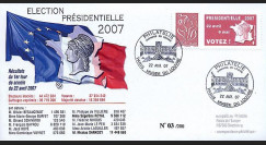 EP07-1b : 2007 - Elections présidentielles 2007 - 1er Tour