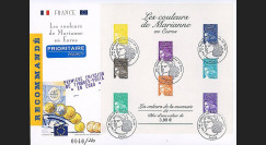 PE445-2A : 2002 - Reco 1er Jour TP 'Introduction de l'Euro' - France